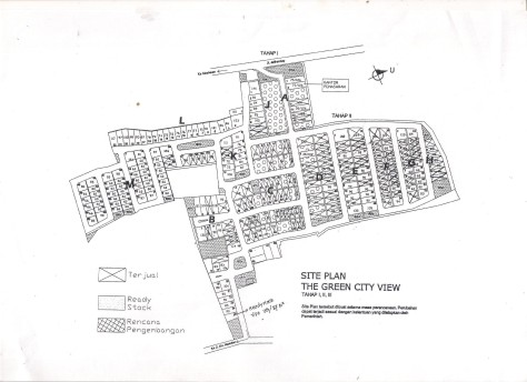 SITEPLAN GREEN CITY VIEW